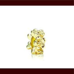 Authentic Pandora Charm 14kt Gold